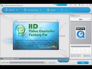 Wonderfox HD Video Converter Factory Pro 23.0 Crack With Serial Key 2022